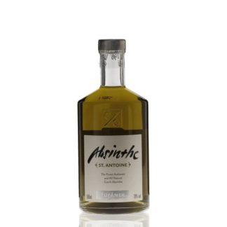 St. Antoine má recepturu z 9 bylin a koření mimo svatou trojici. Destilován v rodinném lihovaru Žufánek. Krásný louche. Připomíná spíše francouzský absinthe