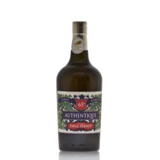 Authentique absinthe má přírodní dobarvení, lehce zlatavý nádech a hutný louche efekt. Destilován v Les Fils d'Emile Pernot ve vesnici La Cluse et Mijoux.