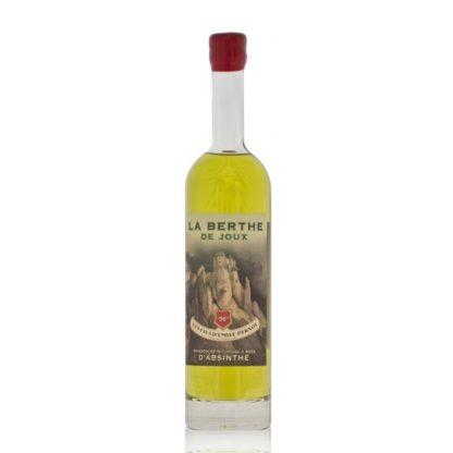 """Složení absinthu Berthe de Joux je mimo """"svatou trojici"""" uchováno v tajnosti. Vytvořil jej Dominique Rousssel a destiluje v Les Fils d'Emile Pernot u Pontarlier."""