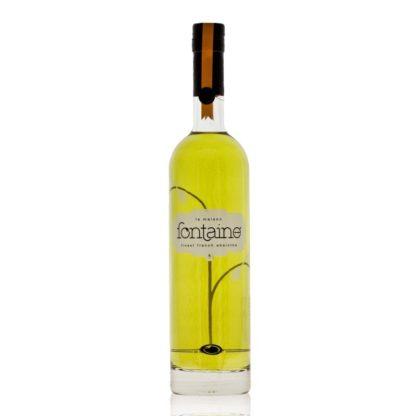 La Maison Fontaine Verte je přírodně dobarvovaný francouzský verte absinthe. Na objednávku destilován v Emile Pernot z patnácti druhů bylin.