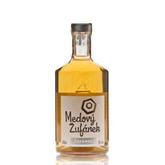 Medový Žufánek je likér výtečné chuti, vyráběn macerací medových plástů, propolisu a mateří kašičky v medovci, tedy destilátu z medoviny.