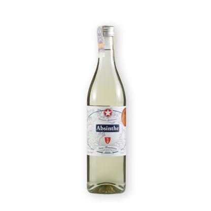 Sans Frontiéres absinthe je inspirován receptem z roku 1890 a je složen z bylin v bio kvalitě vypěstovaných na farmě patřící k Aymonier destilerii.