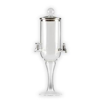 Jednoduchá dvoukohoutková absinthe fontána Calluna duo od sklářů se zlatými českými ručičkami. Vhodná pro domácí i komerční použití.