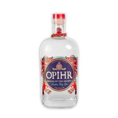 Opihr dry gin je vytvořen z tohoto orientálního koření: koriandru z Maroka, Cubeb pepře z Indonesie, kardamomu a Tellicherry černého pepře z Indie.