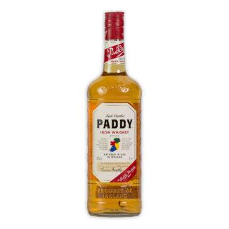 Paddy Irish, jemná blended whisky, třikrát destilovaná, zrající v dubových sudech až 7 let, je světu známá už od roku 1879.